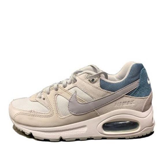 Tênis Feminino Nike Air Max Command Branco Original