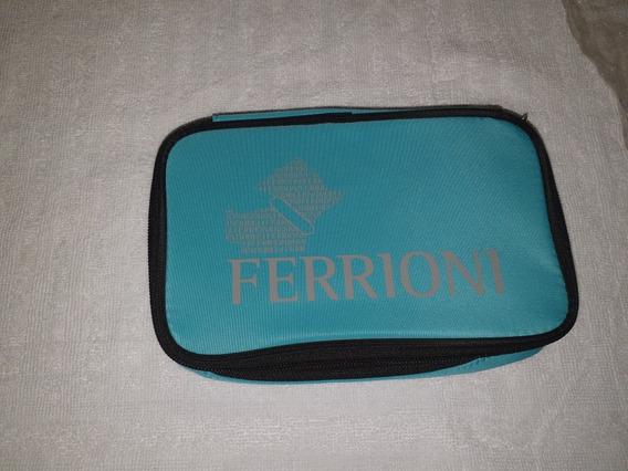 Ferrioni Cosmetiquera Verde Agua