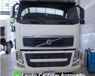 Volvo Fh-460 6x2 (e5) 2013 Bco Defletor - Preco De Feirao