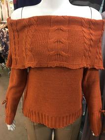 Blusa De Frio Tricot Lã Roupas Femininas! Manga Longa