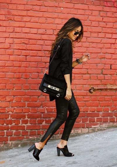 Pantalon Cuero Mujer Zara Ropa, Bolsas y Calzado en