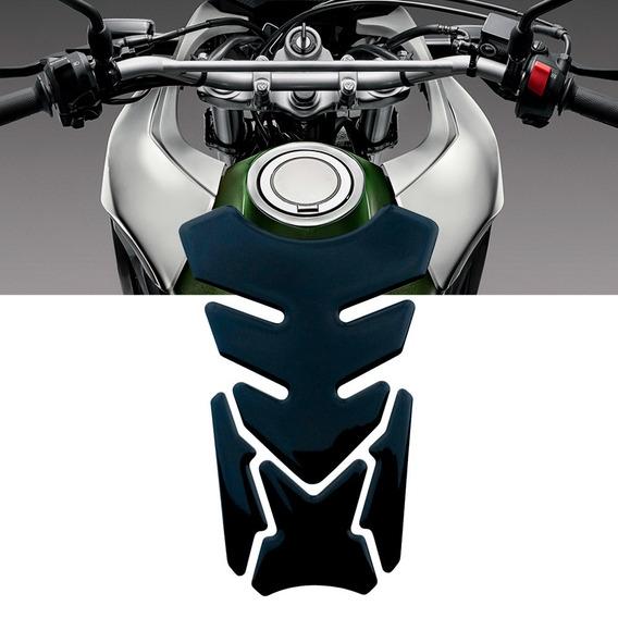Adesivo Protetor De Tanque Tank Pad Para Moto Preto Ducati