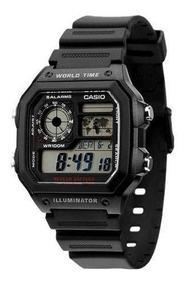 Relógio Casio Ae1200w. 100 Metros. 100% Original.