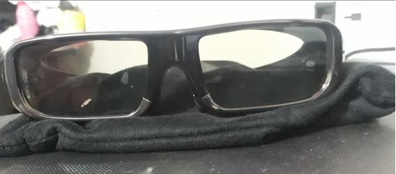 Óculos Sony 3d Tdg Br 100 + Capinha Pano No Estado