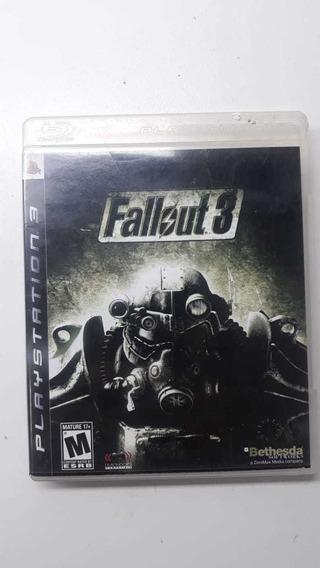 Fallout 3 Ps3 Mídia Física - Original - Usado