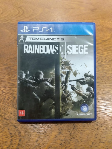 Tom Clancys Rainbow Six Siege Ps4 Semi Novo Mídia Fisica