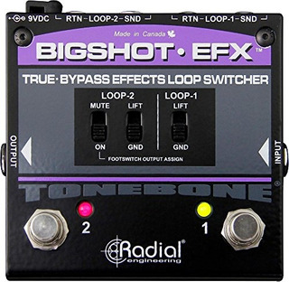 Conmutador De Bucle Radial Bigshot Efx Effects