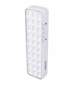 Luminária Luz De Emergência 30 Leds Premium Segurimax Bivolt