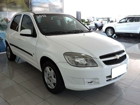Chevrolet Celta Lt 1.0 Branco 8v Flex 4p Manual 2012