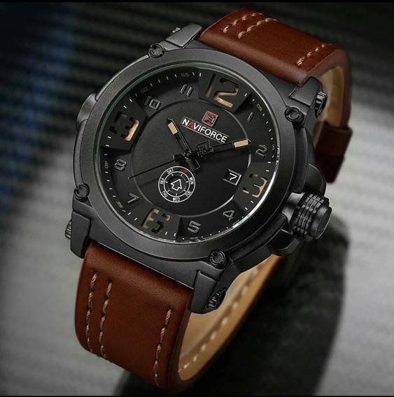 Relógio Masculino Naviforce Original 9099