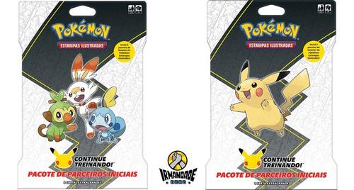 Pokémon Blister Gigante Pikachu + Galar - Parceiros Iniciais