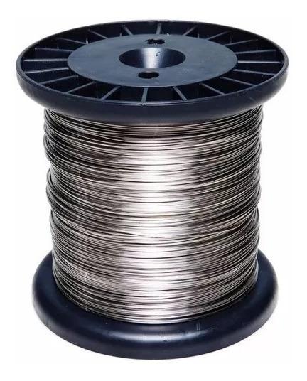 Carretel Arame(fio) Cerca Elétrica Em Inox 0,70mm Com 300m