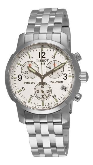 Relógio Tissot Prc 200 T17.1.586.32 Original Completo 40 Mm