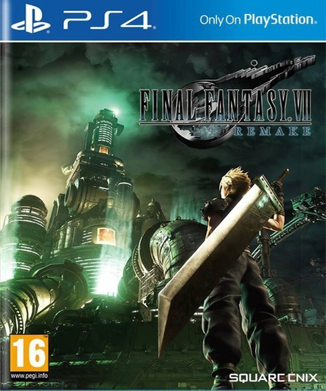 Final Fantasy 7 Remak Ps4 1 Legendado Em Portugues Dg