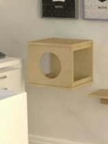 Nicho Toca Para Gatos, Kit Com 4 Unidades