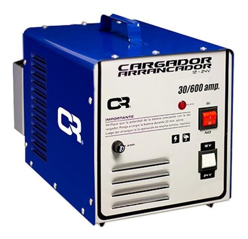 Imagen 1 de 8 de Cargador Cr Arrancador De Bateria Auto 30-600a 24v C/remoto