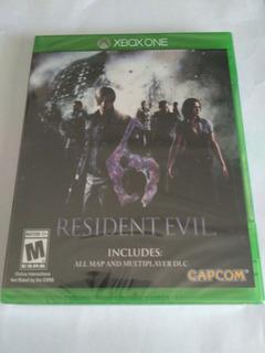 Resident Evil 6 Xbox One Nuevo Sellado Envio Gratis