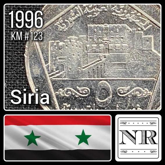 Siria - 5 Liras - Año 1996 - Km #123 - Ciudad De Aleppo