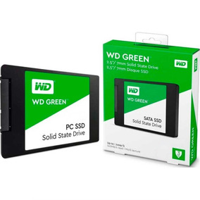 Hd Ssd Wd Green 2.5 480gb Sata Leitura 545mb/s Wds480g2g0a