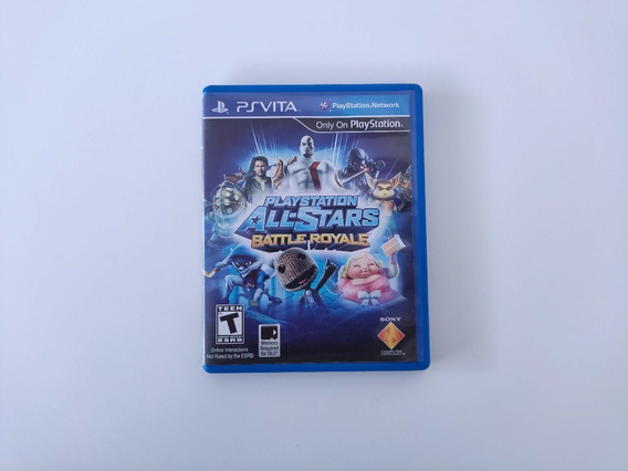 Playstation All Stars Battle Ps Vita Psvita Midia Fisica Us