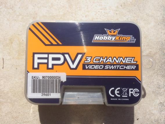 Video Switch 3ch Novo