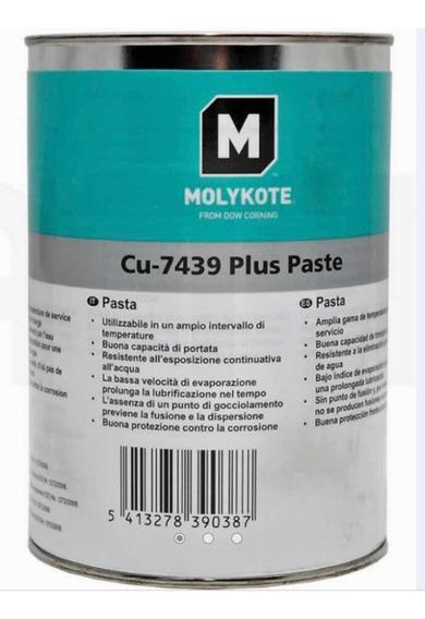 Graxa Cobreada - Molykote Cu 7439 Plus - Pote 10gr + Brinde