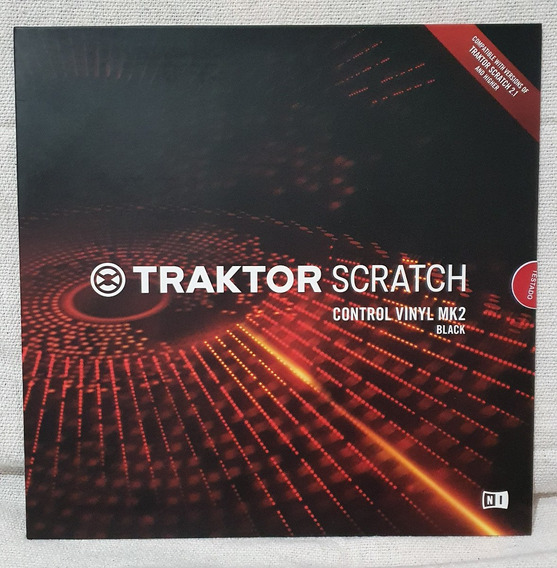 Vinil Disco Timecode Dvs Traktor Scratch Control Vinyl Mk2