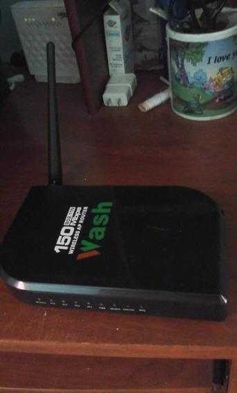 Reuter...wash, 150mbps, 1 Antena 2.4 Ghz