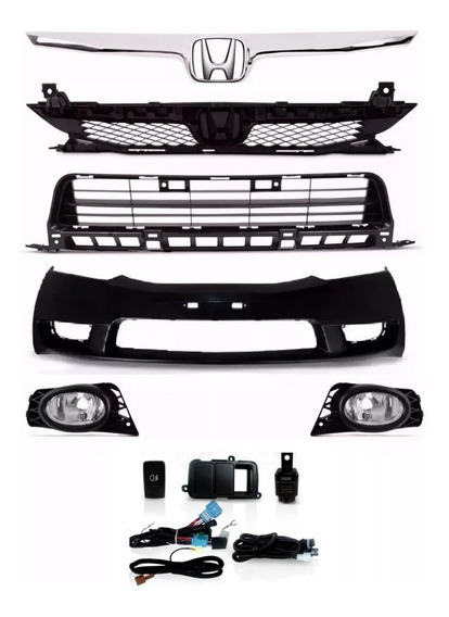 Kit Transformação New Civic 2009 2010 2011 2012