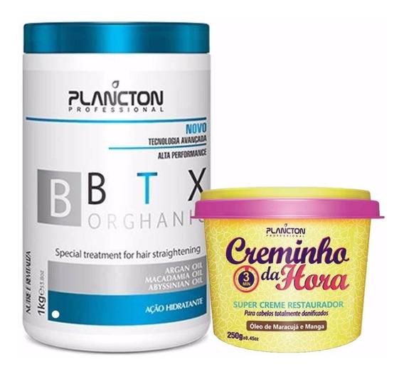 Btx Plancton 1kg + Creminho Da Hora + Envio Rápido