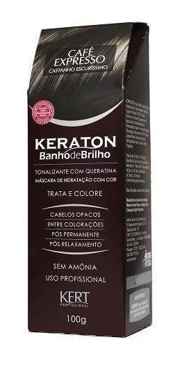 Keraton Banho De Brilho Café Expresso Castanho Escuríssimo