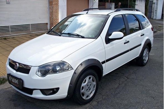 Fiat Palio Weekend Trekking 1.6 Flex Manual 2013 Branca