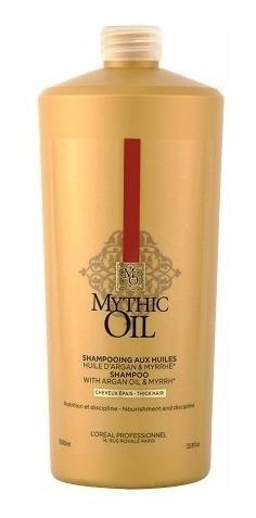 Loreal Mythic Oil Shampoo Para Cabello Grueso X 1000ml