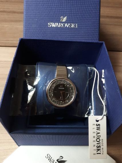 Relogio Swarovski Crystal Pure Novo Na Caixa Original !!