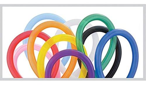 Globos Qualatex, 260u., 100por Bolsa, Varios Colores: Rosa