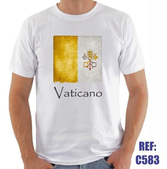 Camisa Vaticano Santa Sé Igreja Católica Religiosa Fé Deus