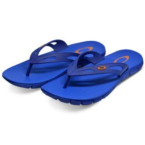 Chinelo Oakley Operative 2.0 Surf Várias Cores Azul