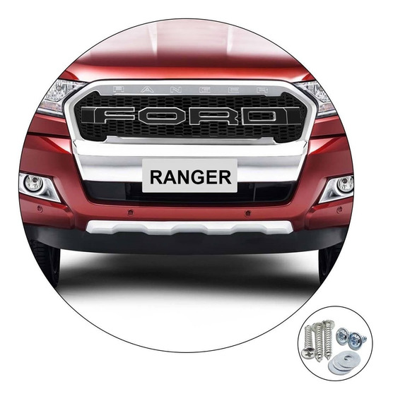 Grade Raptor Frontal Ford Ranger 2017/... Preto