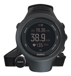 Reloj Suunto Ambit3 Sport Black Hr, Gps, Con Banda Cardiaca