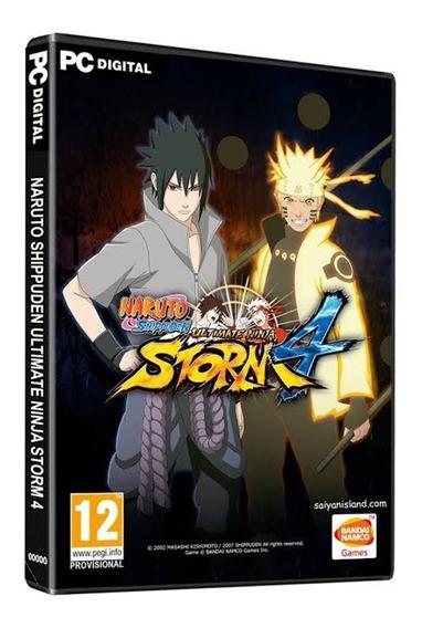 Naruto Shippuden Ultimate Ninja Storm 4 Pc - Deluxe Edition