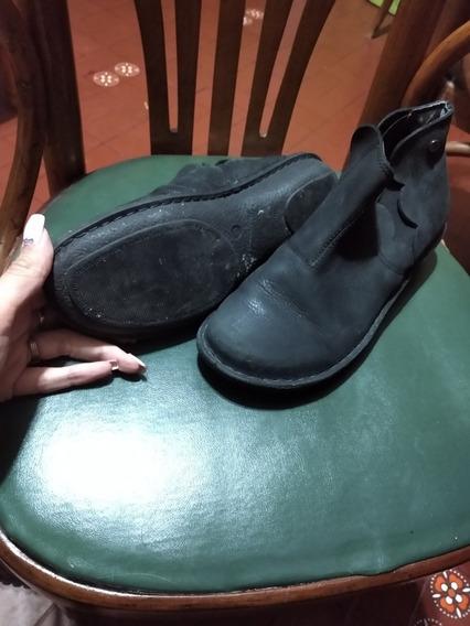 Zapatos Grimoldi Cuero Y Botitas Cuero
