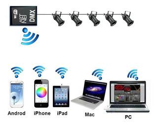 Interfaz Dmx 512 Wifi Controlador Artnet De 1 Universo