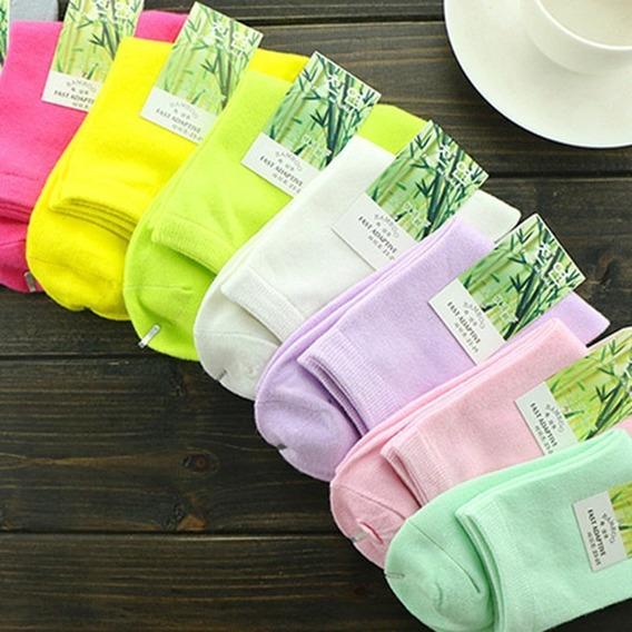 Calcetines De Bambu Colores De Vestir Unisex