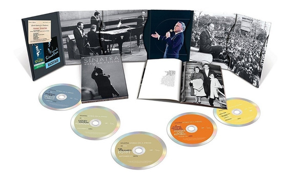 Frank Sinatra World On A String Box 4 Cd + Dvd Import Nuevo