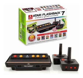 Console Atari Flashback 7 Com 101 Jogos Na Memória Tectoy