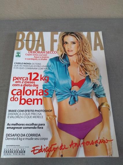Revista Boa Forma Deborah Secco Edição 292 Ano 2011