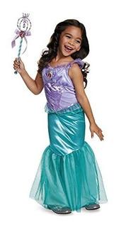 Ariel Deluxe Disney Princess El Traje De La Sirenita Medium7
