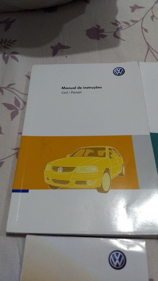 Manual Proprietario Volkswagen Gol Parati G4 2010