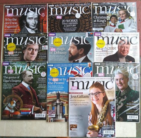 Revista Clássico Music Bbc Inglaterra Com 10 Em Inglês Semcd