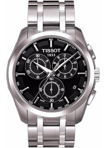 Relógio Tissot Couturier Safira Cronógrafo 100% Original